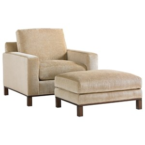 Lexington Lexington Upholstery Chronicle Chair & Ottoman