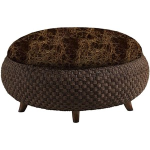 Lexington Lexington Leather Customizable Kenya Leather Ottoman