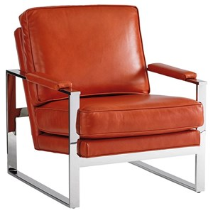 Lexington Lexington Leather Moonstone Chair