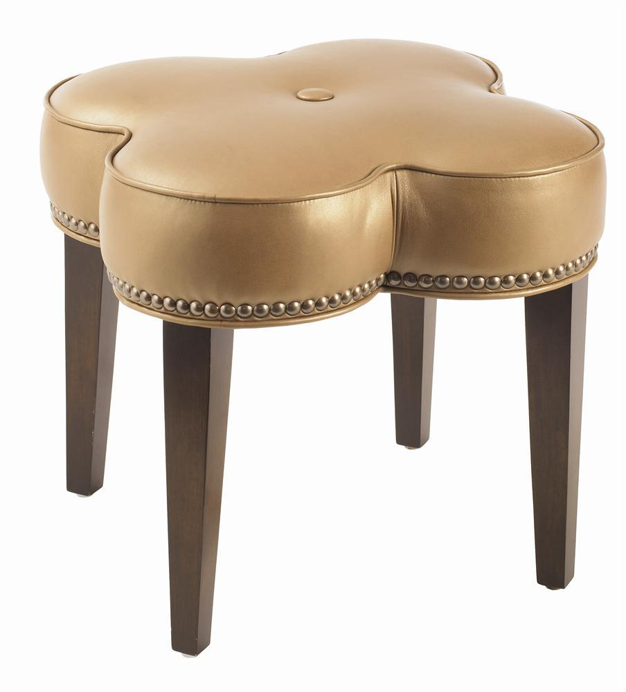 Lexington Leather Pampelonne Ottoman by Lexington at Jacksonville Furniture Mart