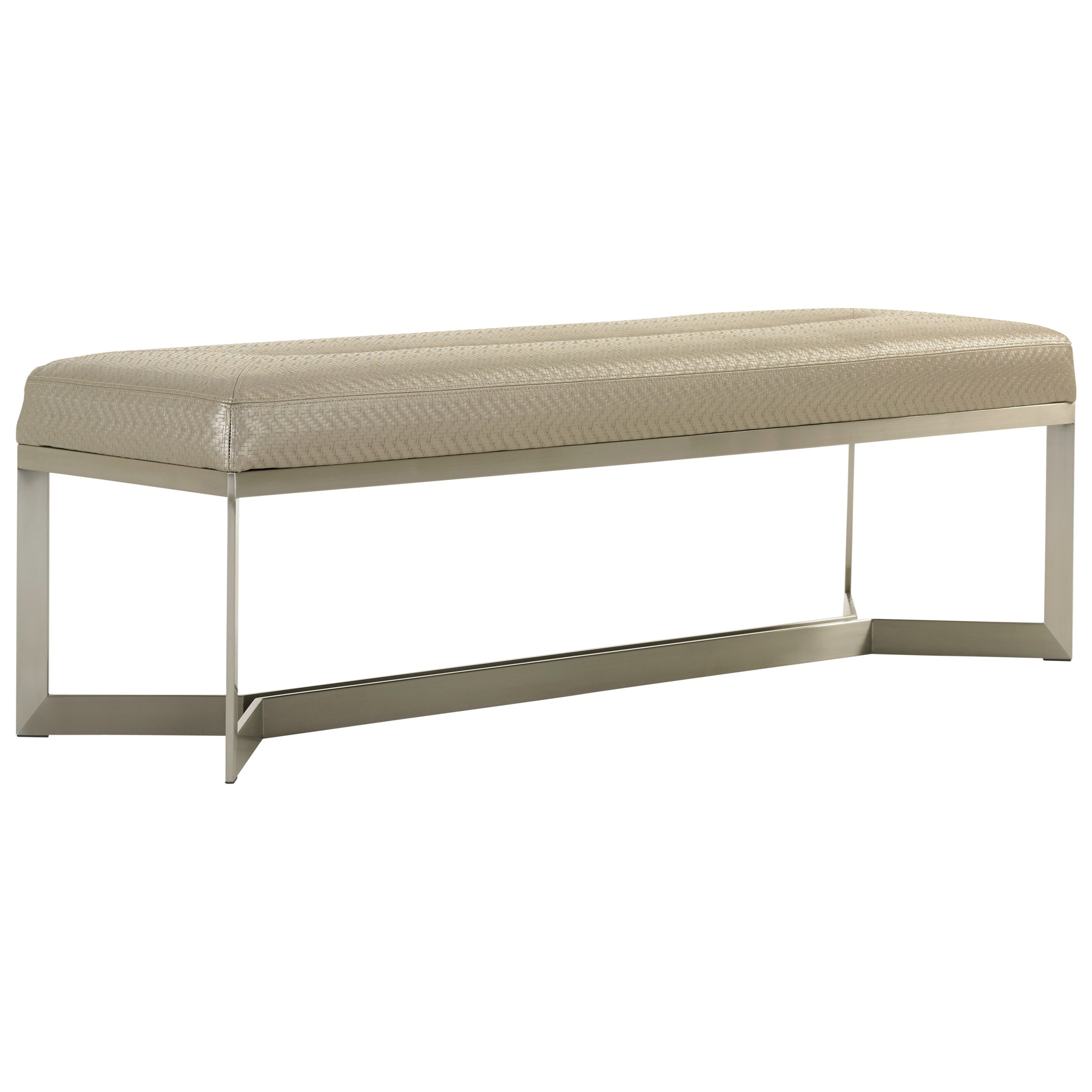 MacArthur Park Amador Upholstered Bed Bench by Lexington at Johnny Janosik