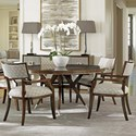 Lexington MacArthur Park 6 Pc Strathmore Dining Set - Item Number: 729-875C+5X729-881