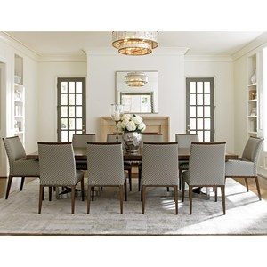 Lexington MacArthur Park 11 Pc Beverly Place Dining Set