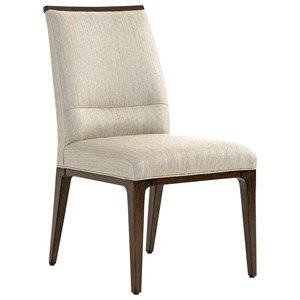 Collina Upholstered Side Chair Married