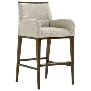 Lexington MacArthur Park Getty Customizable Bar Stool