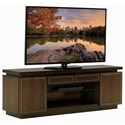 Lexington MacArthur Park Three Piece Entertainment Wall Unit with Adjustable Shelving and Wire Management