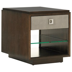 Lexington MacArthur Park Chenault Storage End Table