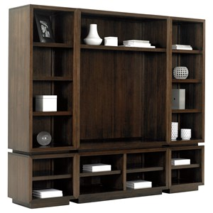 Lexington MacArthur Park 3 Pc Entertainment Wall Unit