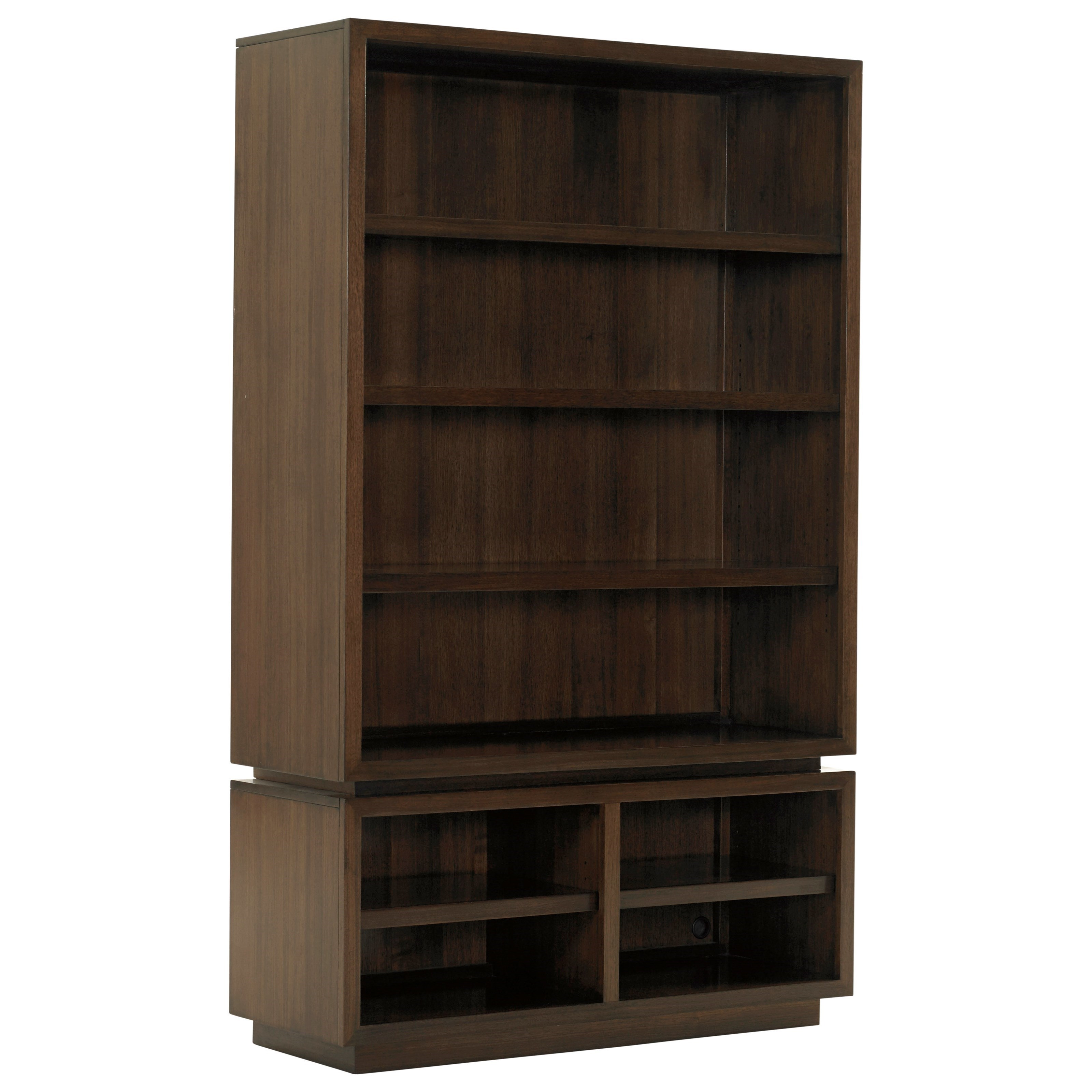 MacArthur Park Thurston Bunching Bookcase by Lexington at Johnny Janosik