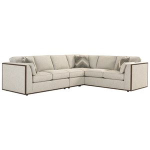 Lexington MacArthur Park Westcliffe Sectional Sofa  sc 1 st  Baeru0027s Furniture : miami sectional sofa - Sectionals, Sofas & Couches