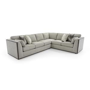 Lexington MacArthur Park Westcliffe 2 Pc Sectional Sofa  sc 1 st  Baeru0027s Furniture : orlando sectional sofa - Sectionals, Sofas & Couches