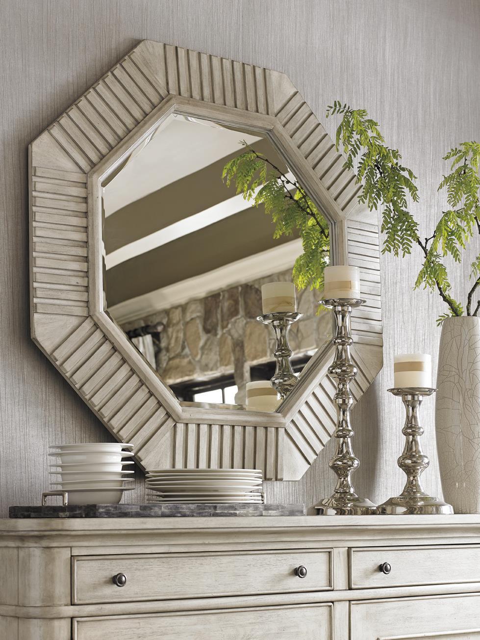 Lexington Oyster Bay 714 204 Selden Octagonal Mirror With