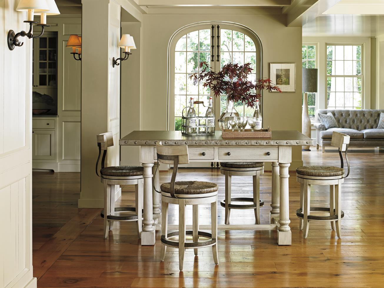 Lexington Oyster Bay 714 873 Hidden Lake Bistro Table With