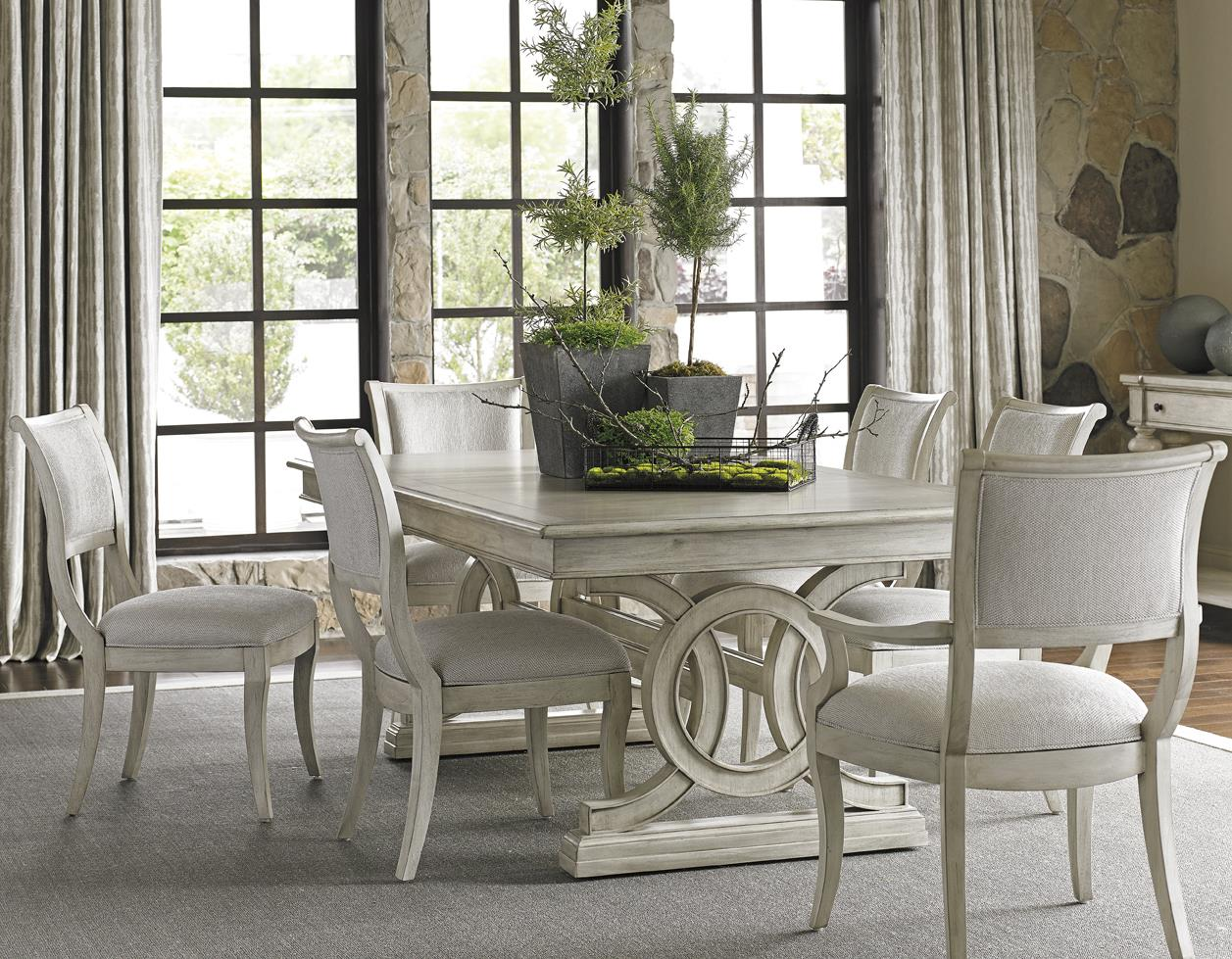 Lexington Oyster Bay Seven Piece Dining Set With Montauk