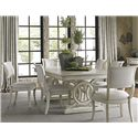 Lexington Oyster Bay 7 Pc Dining Set - Item Number: 714-876+2X714-881-01+4X714-880-01