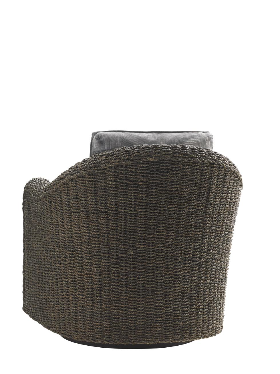 Lexington Oyster Bay Seabury Swivel Chair With Woven Water