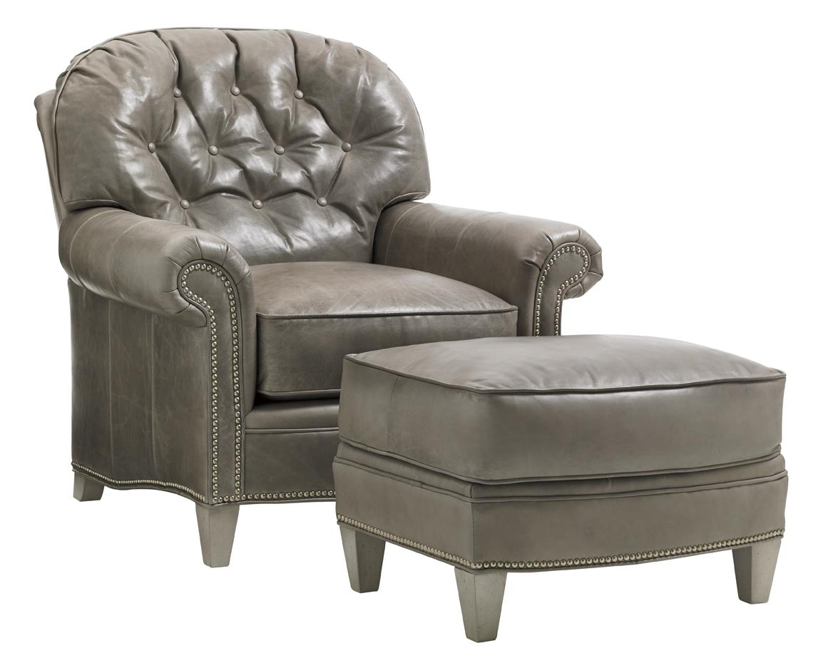 Bayville Chair & Ottoman Set