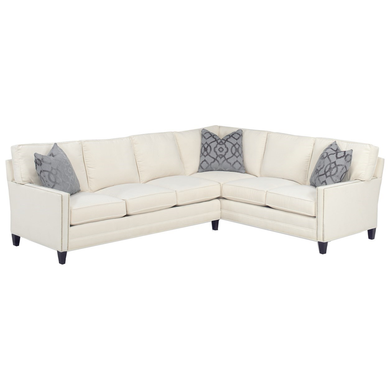 Personal Design Series Customizable Bristol 2 Pc Sectional by Lexington at Johnny Janosik