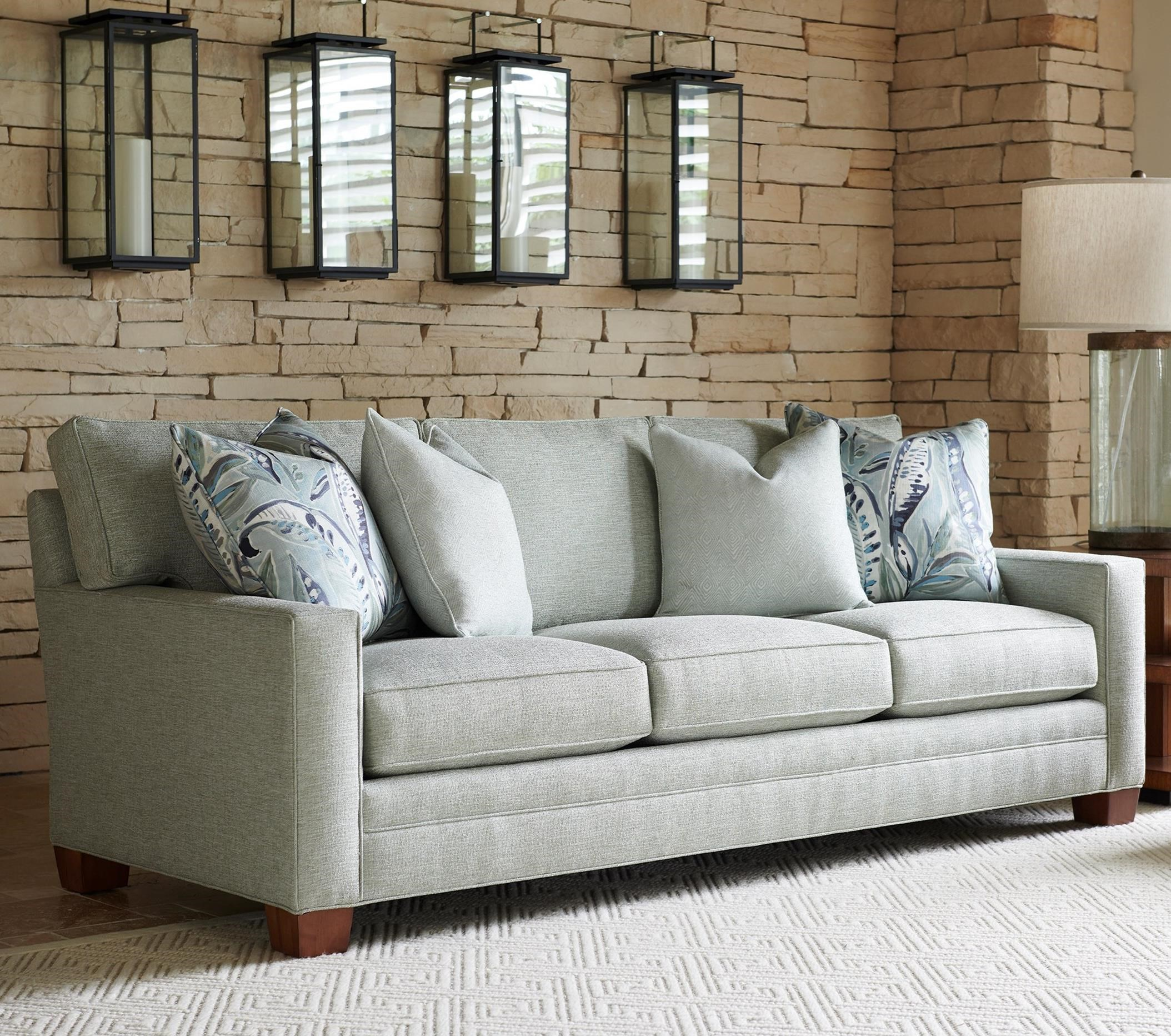 Personal Design Series Bedford Customizable 3- Cushion Sofa by Lexington at Johnny Janosik