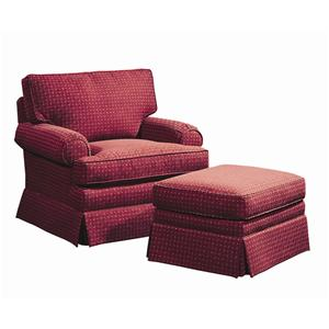 <b>Customizable</b> Chair and Ottoman
