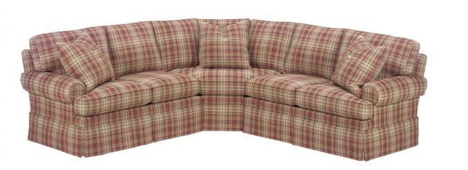 <b>Customizable</b> Upholstered Sectional
