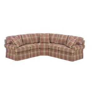 <b>Customizable</b> Upholstered Sectional