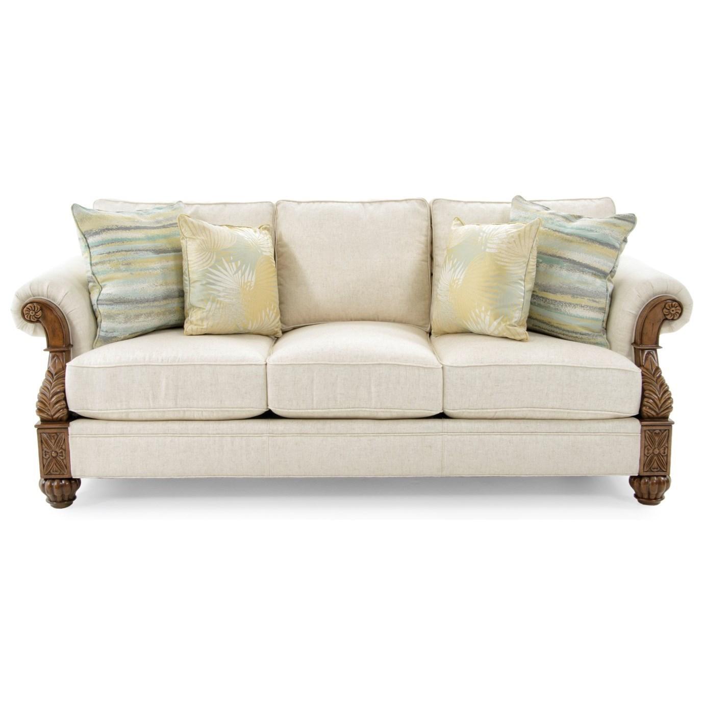 Lexington Quick Ship Upholstery Quick Ship Benoa Harbour Sofa - Item Number: 7530-33-02