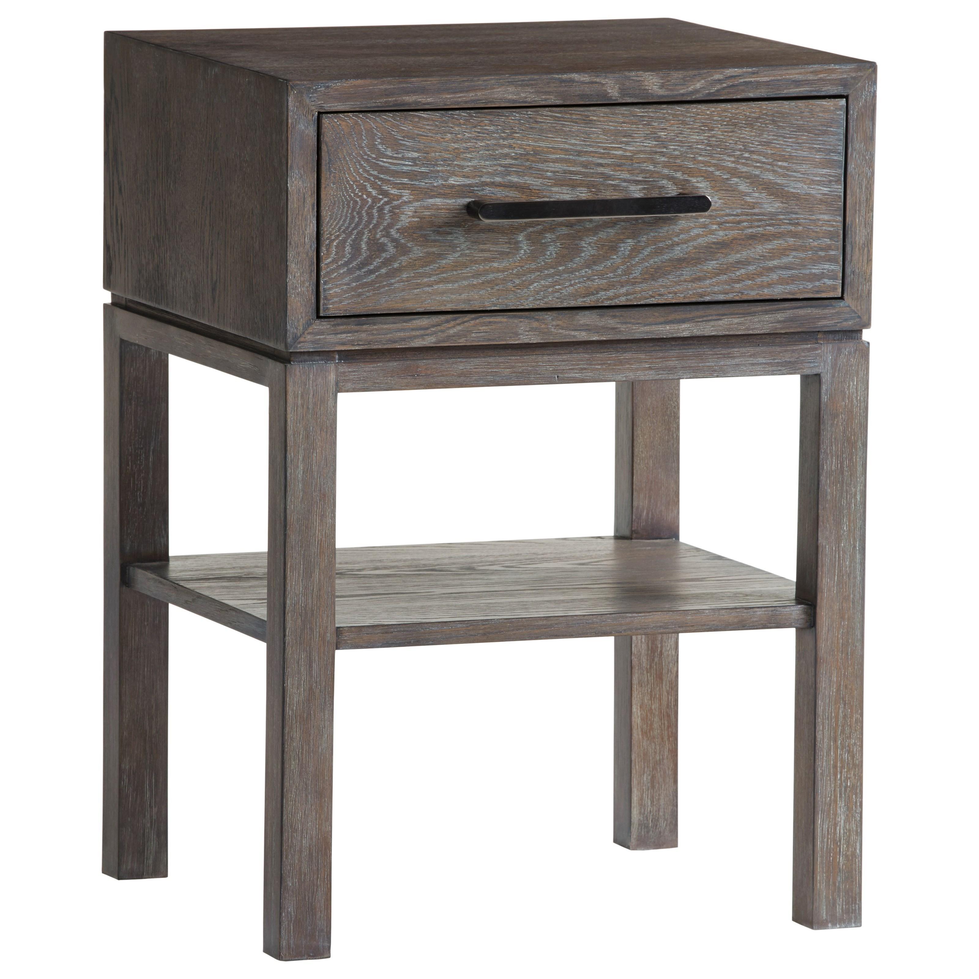 Lexington Santana Armiston 1 Drawer Night Table With 1 Open Shelf