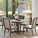 Lexington Santana 5 Pc Dining Set - Item Number: 411-870C+4x411-880-01