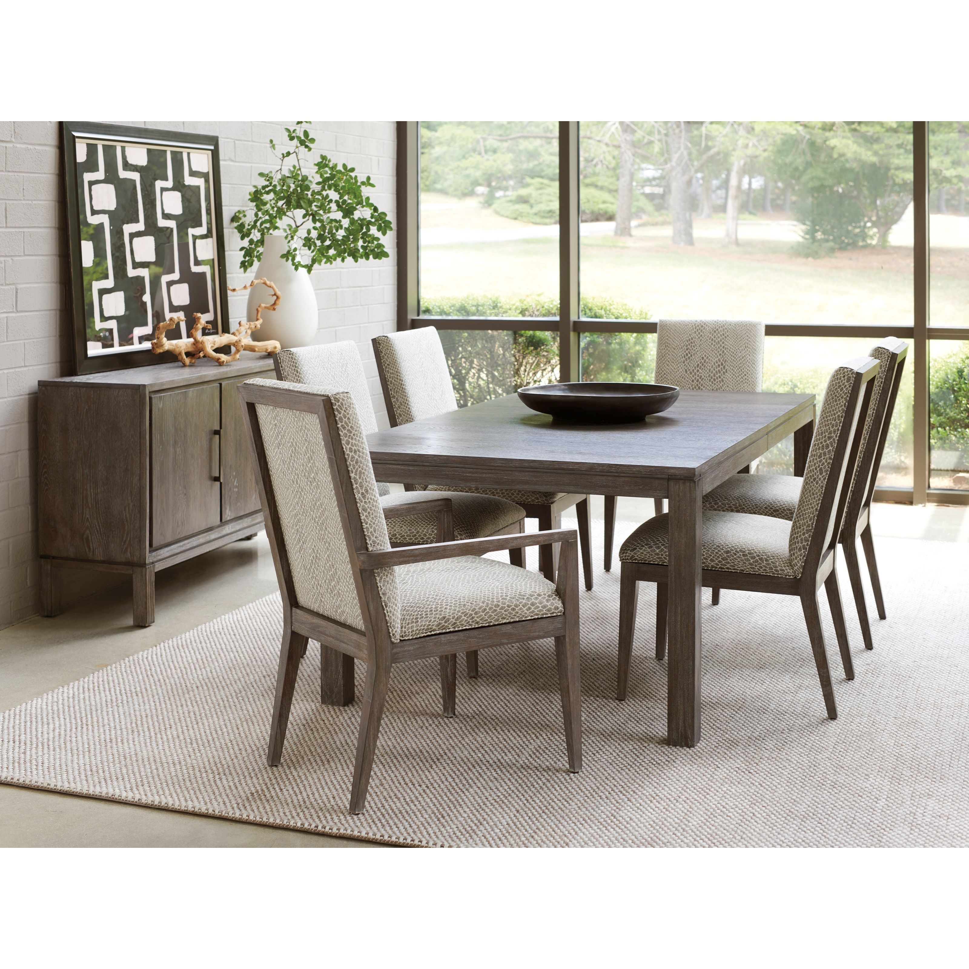 Lexington Dining Room Furniture: Lexington Santana Seven Piece Dining Set With Marin Table