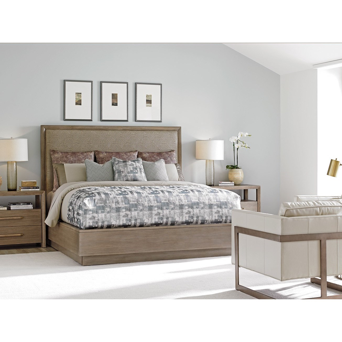 Lexington Shadow Play Queen Bedroom Group - Item Number: 725 Q Bedroom Group 1