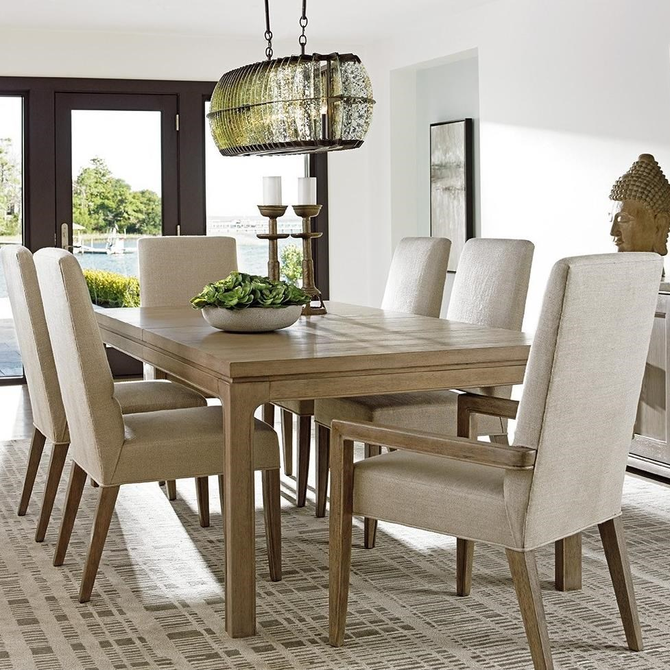 Lexington Shadow Play 7 Pc Dining Set - Item Number: 725-877+4X725-880-01+2X725-881-01