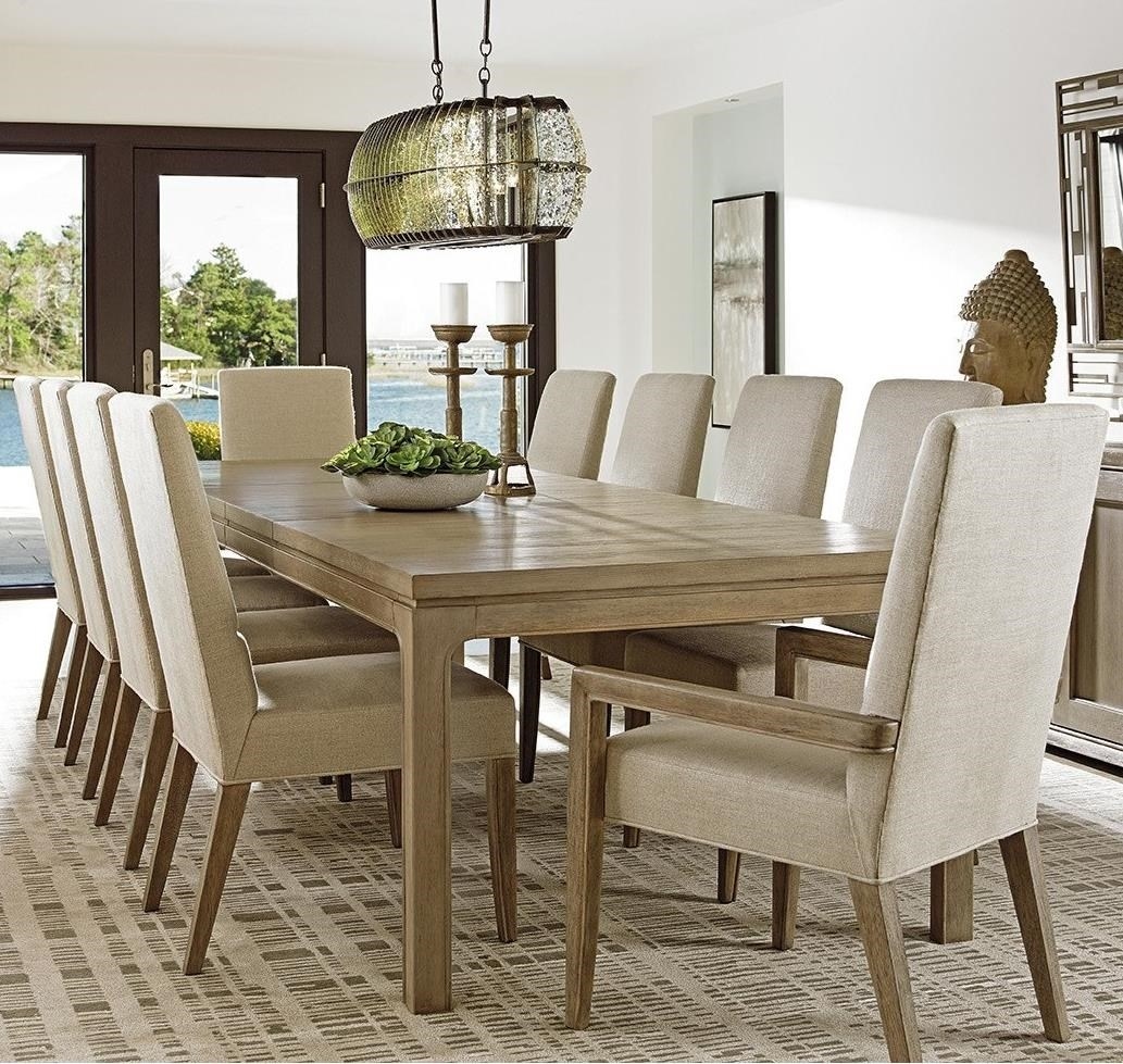 Lexington Shadow Play 11 Pc Dining Set - Item Number: 725-877+8X725-880-01+2X725-881-01
