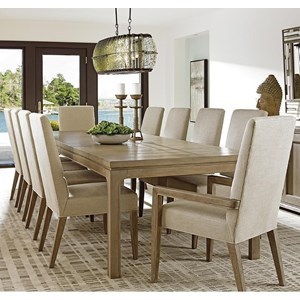 Lexington Shadow Play 11 Pc Dining Set