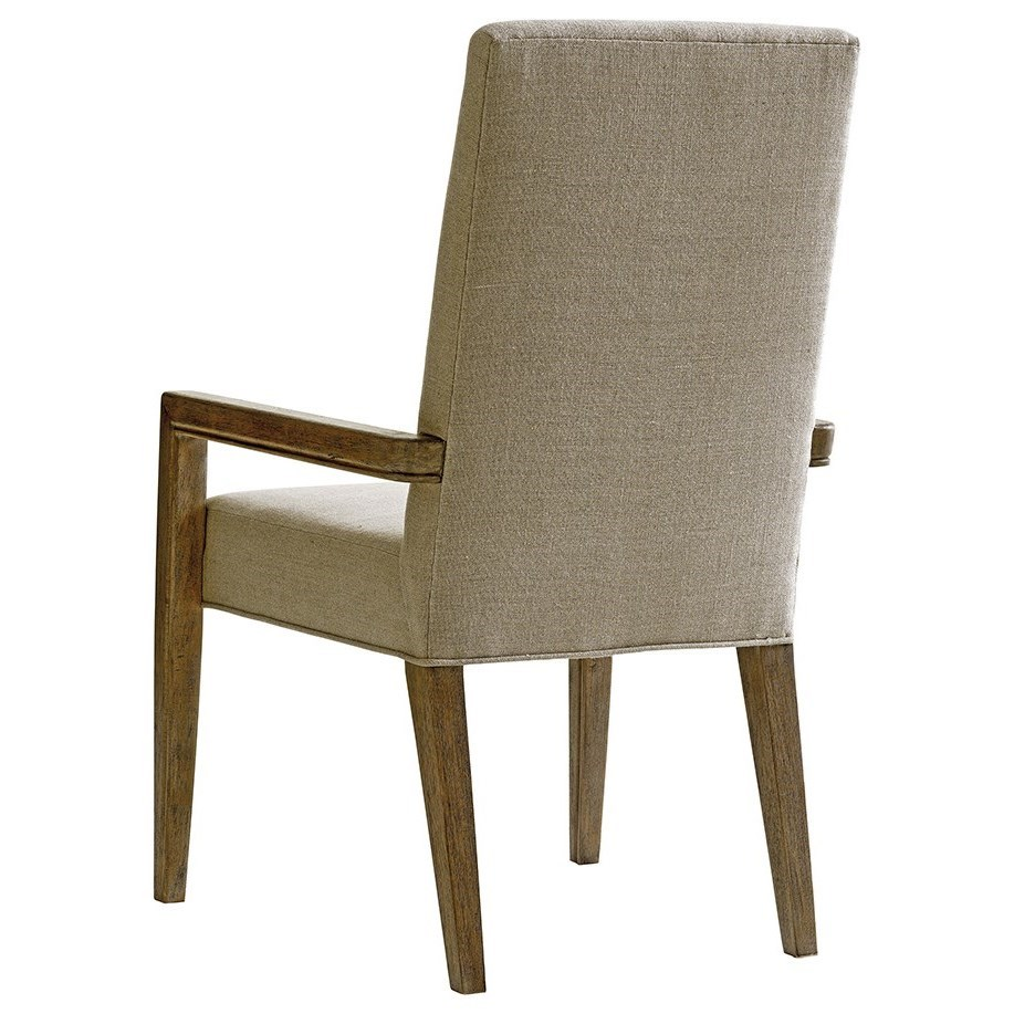 Lexington Shadow Play Metro Dining Arm Chair in Dove Gray ...