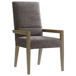 Lexington Shadow Play Customizable Metro Arm Chair