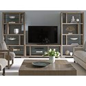 Lexington Shadow Play Spotlight Wall Unit - Item Number: 725-909+2X725-991