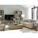 Lexington Shadow Play Spotlight Wall Unit with Adjustable Glass Shelving