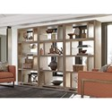 Lexington Shadow Play Windsor Open Bookcase with Adjustable Glass Shelves