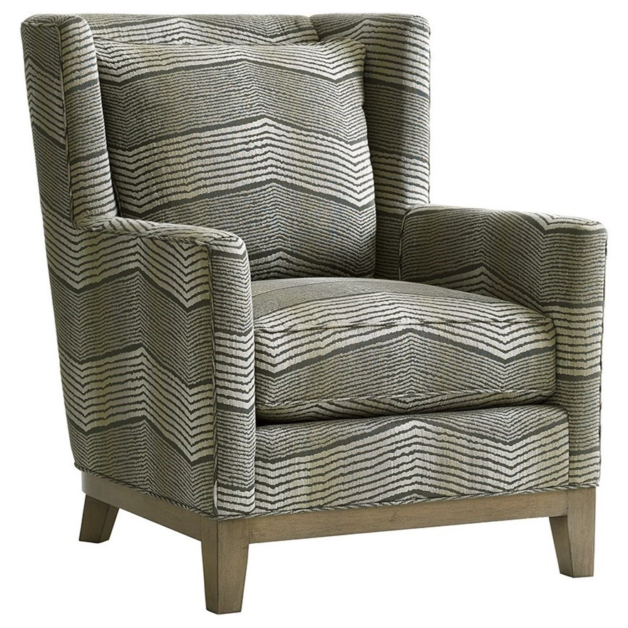 Shadow Play Atlas Chair by Lexington at Jacksonville Furniture Mart