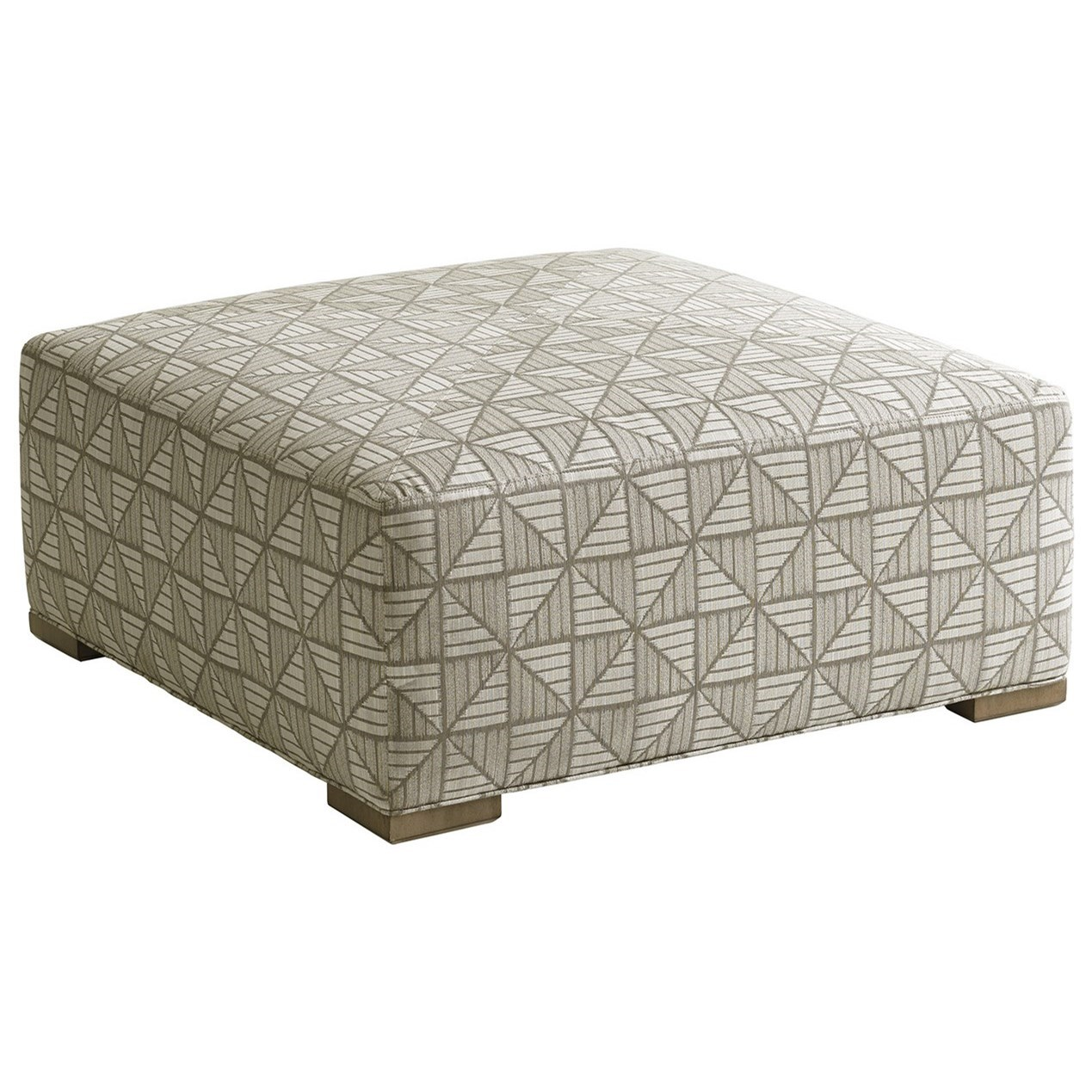 Shadow Play Melina Cocktail Ottoman by Lexington at Jacksonville Furniture Mart