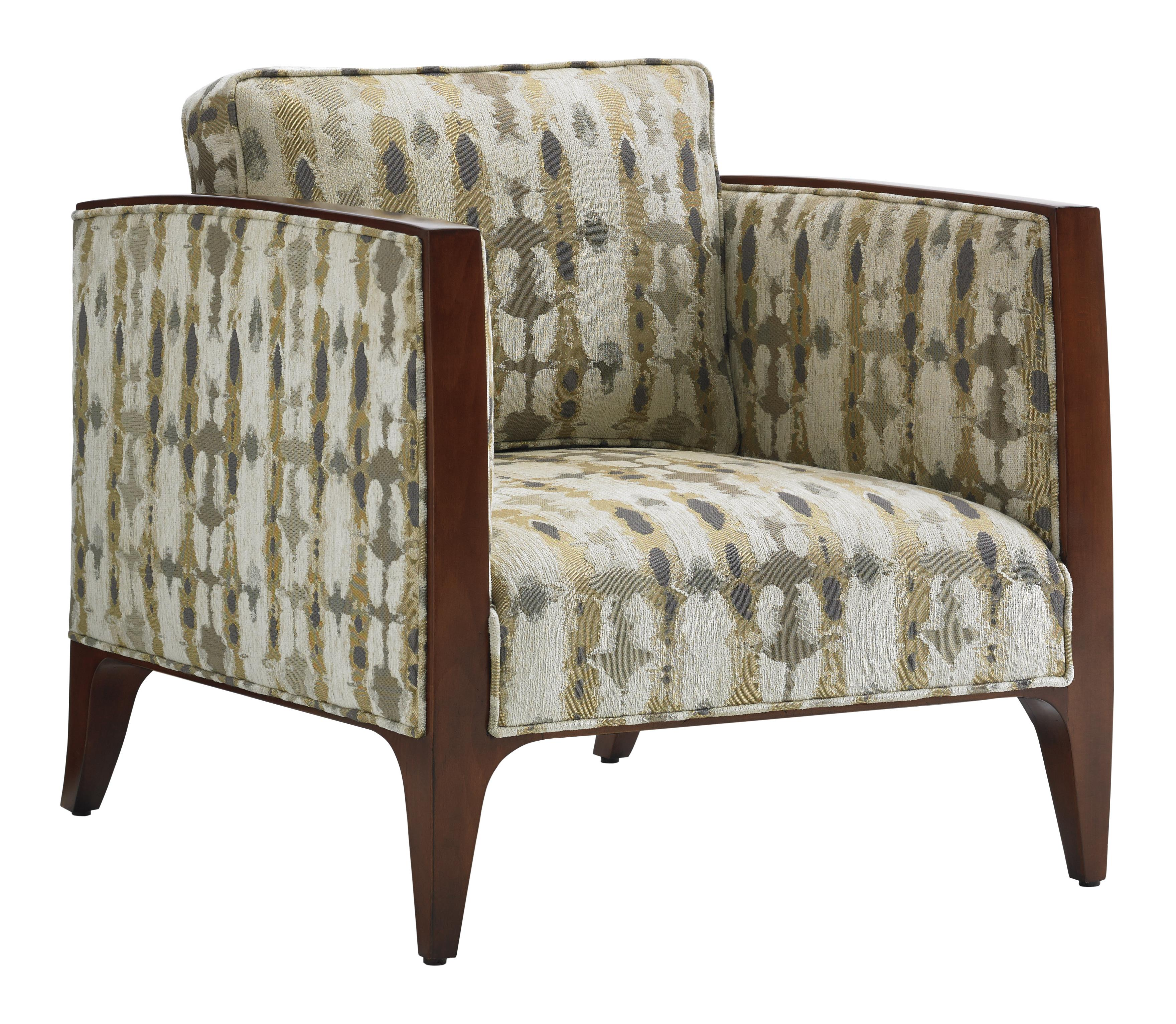 Lexington Take Five Cobble Hill Arm Chair With Wood Trim Belfort Furniture Upholstered Chairs