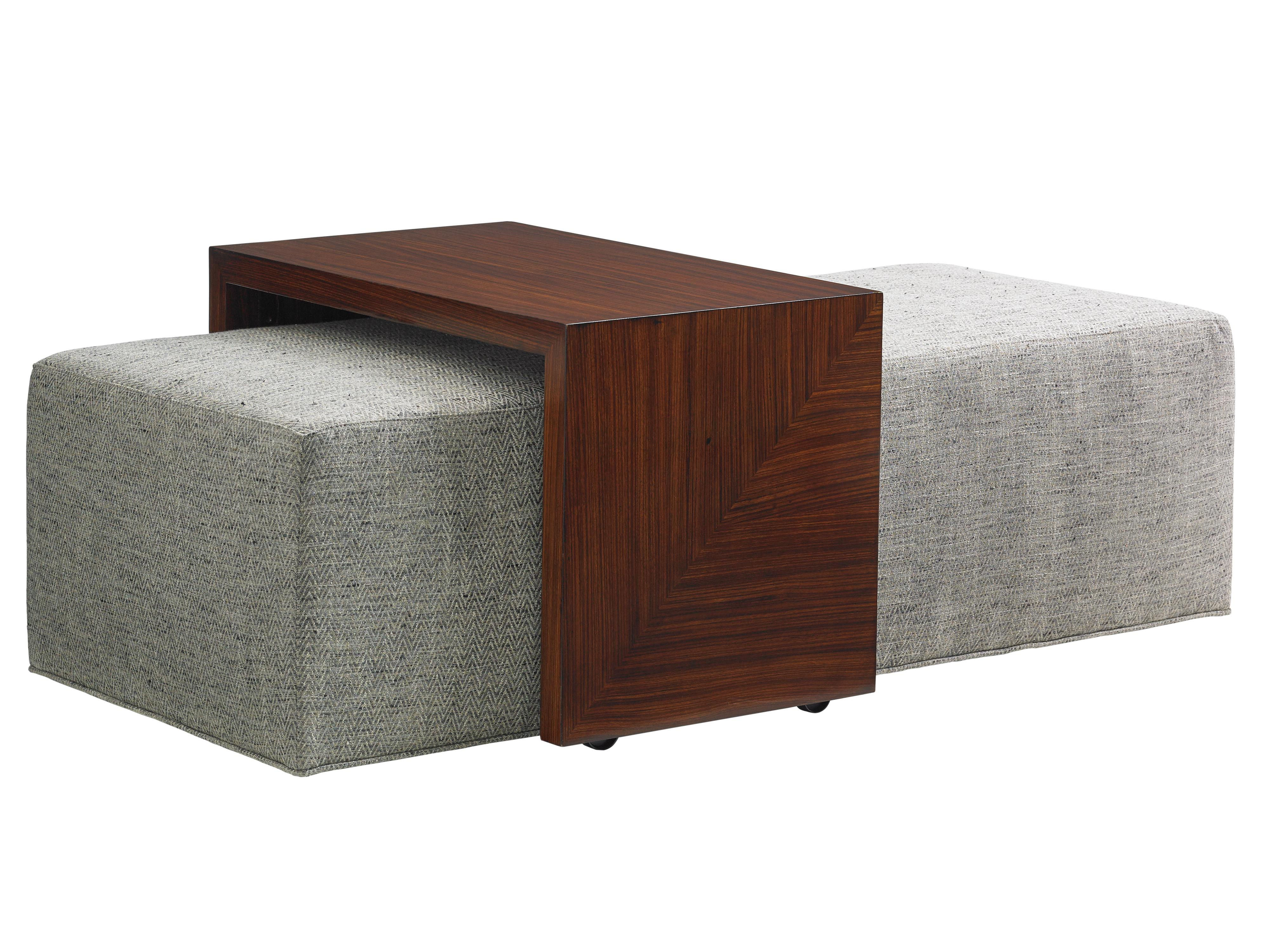 TAKE FIVE Broadway Cocktail Ottoman with Slide by Lexington at Jacksonville Furniture Mart