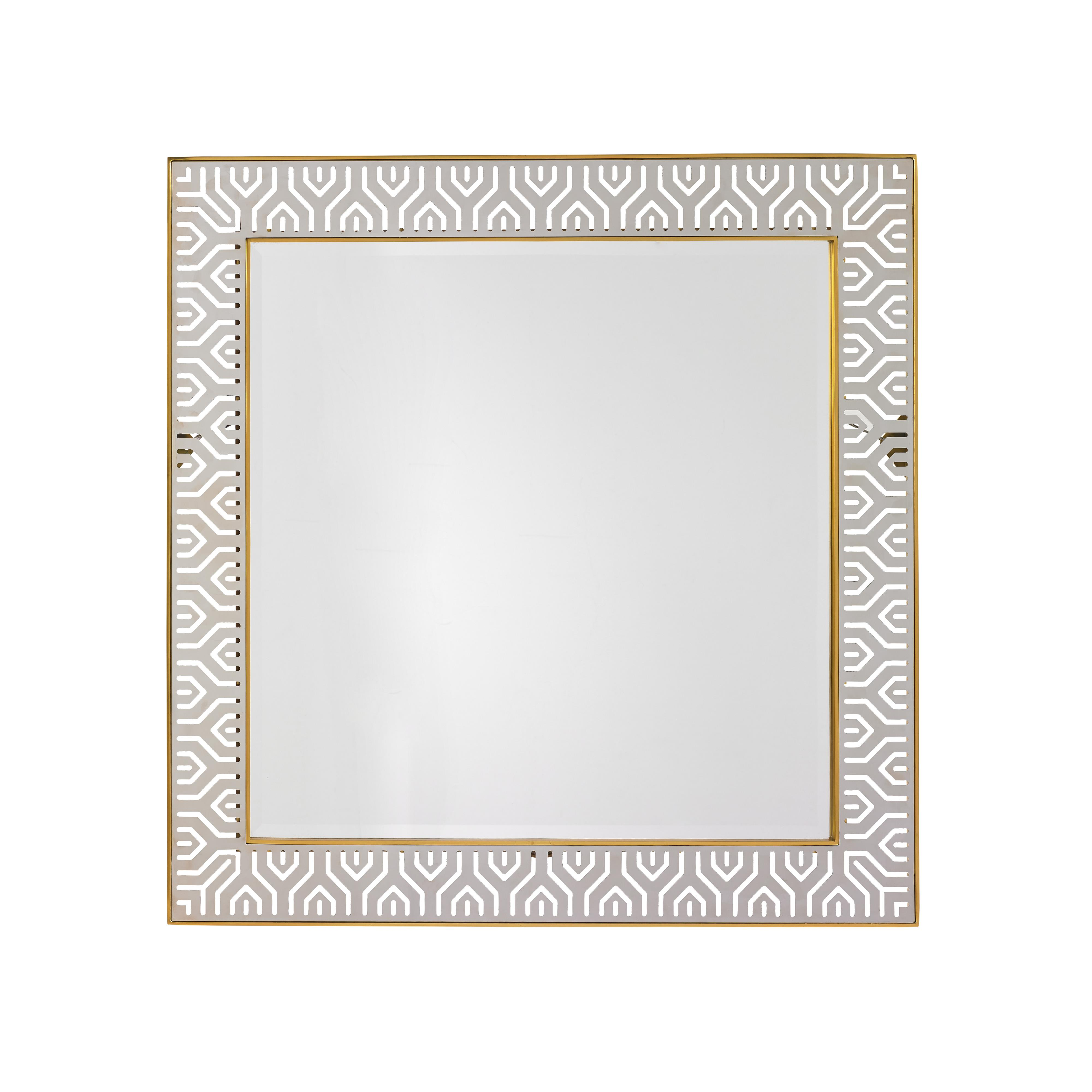 TAKE FIVE Tribeca Square Mirror by Lexington at Johnny Janosik