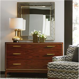 Lexington TAKE FIVE Carleton Dresser and Tribeca Mirror Set