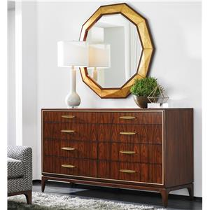 Lexington TAKE FIVE Capella Dresser and Savoy Mirror Set