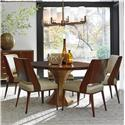 Lexington TAKE FIVE Six Piece Dining Set with Regency Table and Hayden Chairs
