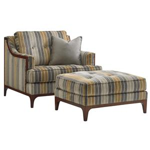 Lexington TAKE FIVE Barclay Chair and Ottoman Set