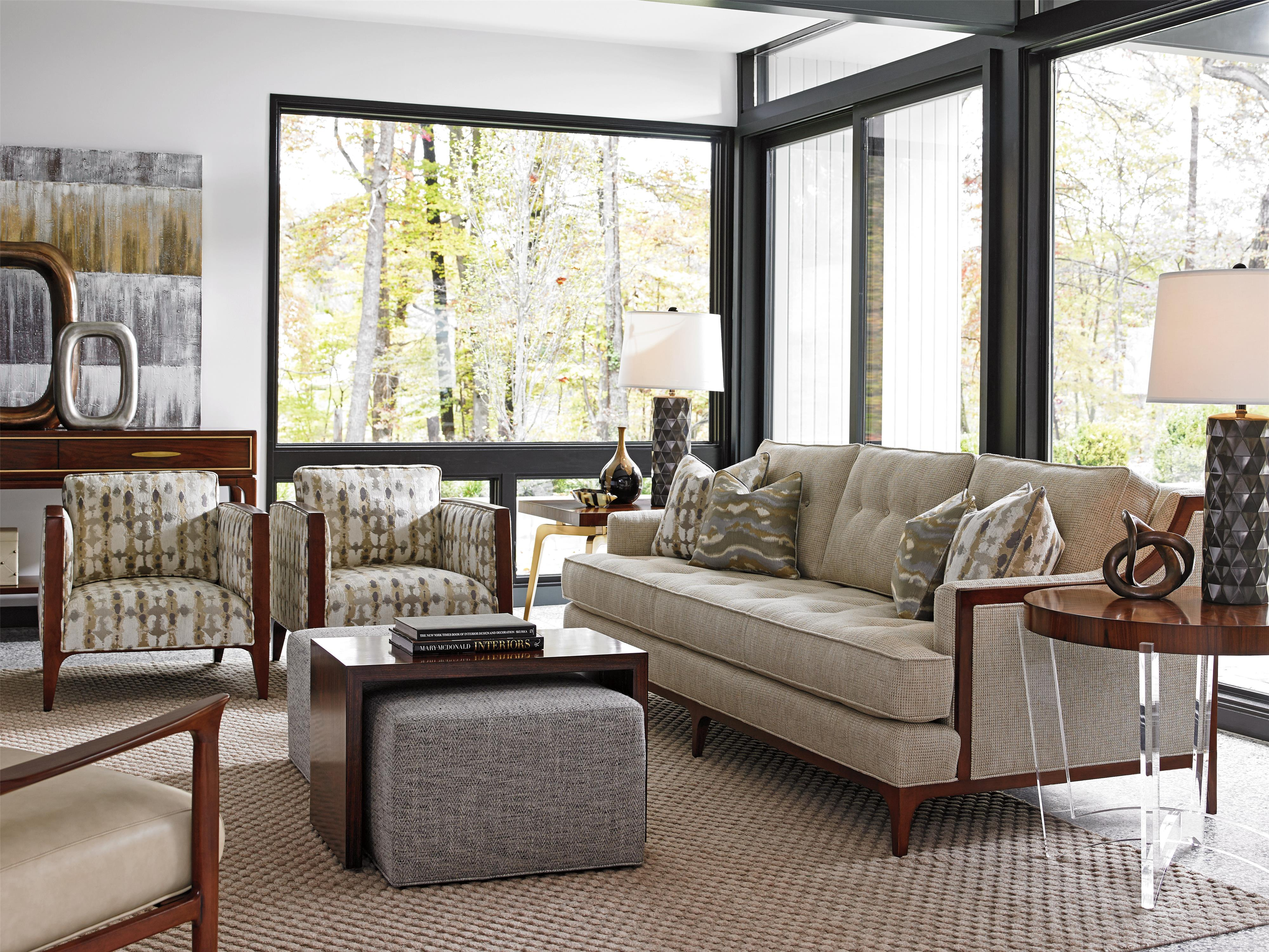 Lexington Take Five 7577 33 Barclay Sofa With Tufting And