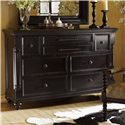 Tommy Bahama Home Kingstown Stony Point Triple Dresser with Pilasters